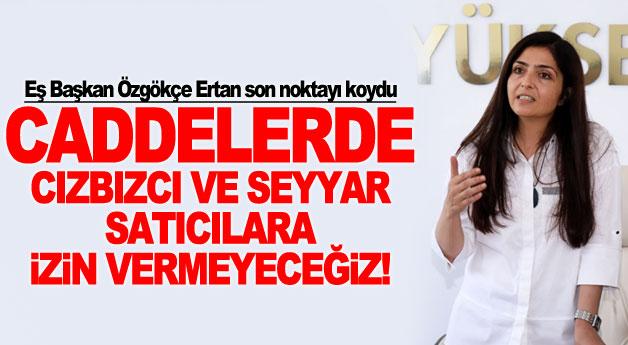 Eş Başkan Özgökçe Ertan son noktayı koydu: Caddelerde...