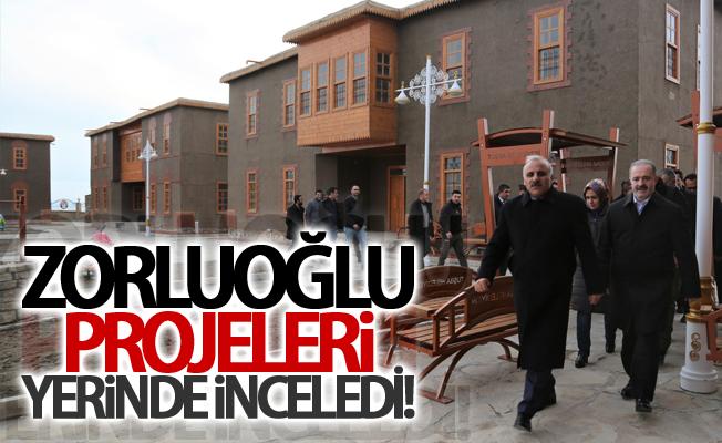 Vali Zorluoğlu, Tuşba Belediyesinin projelerini inceledi