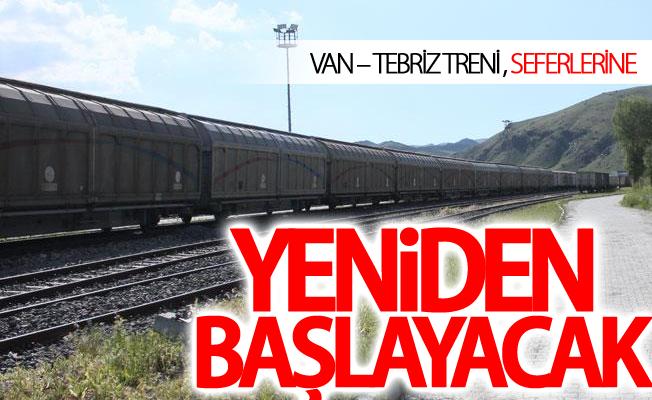Van-Tebriz Treni İlk Seferini 18 Haziranda yapacak