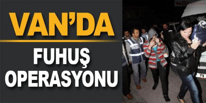 Van'da fuhuş operasyonu 5 kişi tutuklandı