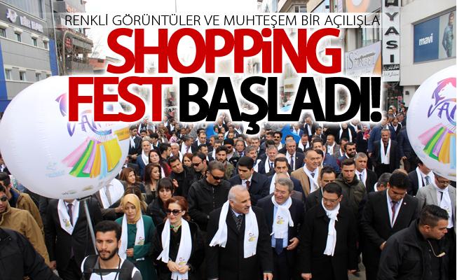 Van Shopping Fest'e muhteşem açılış