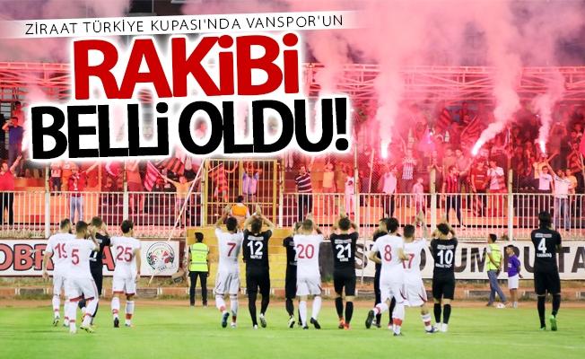 Ziraat Türkiye Kupası Van BŞB'in rakibi belli oldu